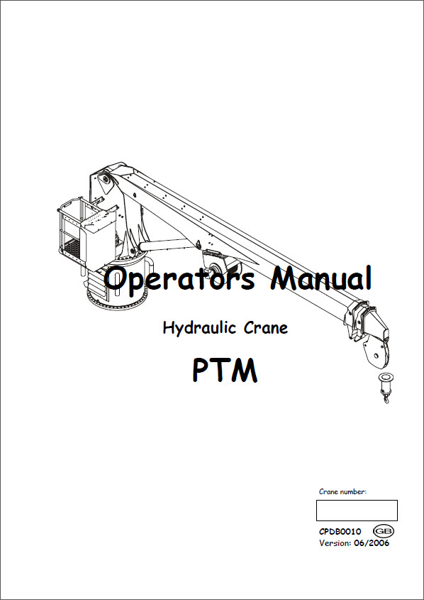 hydraulic crane ptm operators manual palfinger marine 2006 pdf rh seatracker ru truck crane operations manual truck crane operations manual