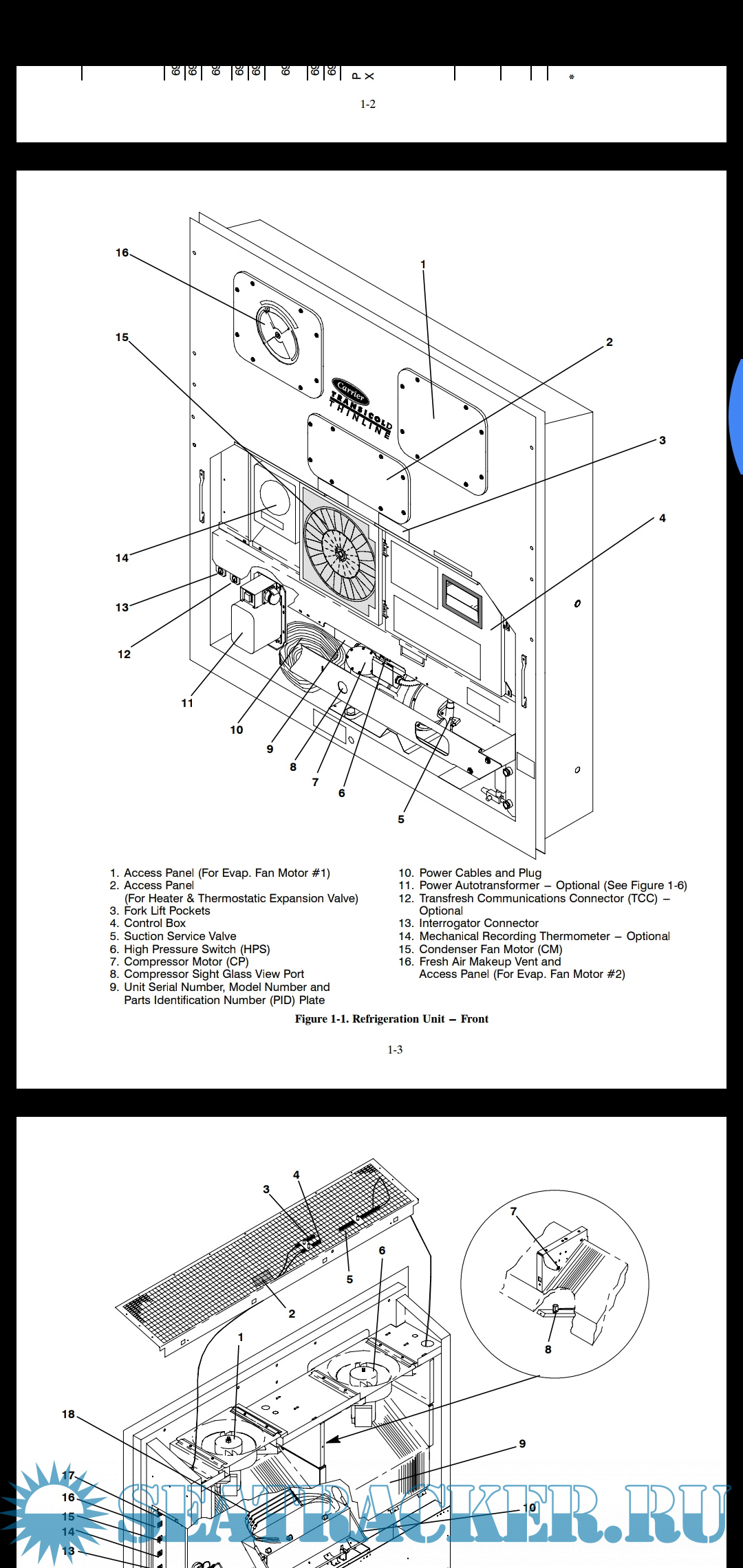 ... Array - carrier reefer container instruction manual carrier 1995 pdf rh  seatracker ru