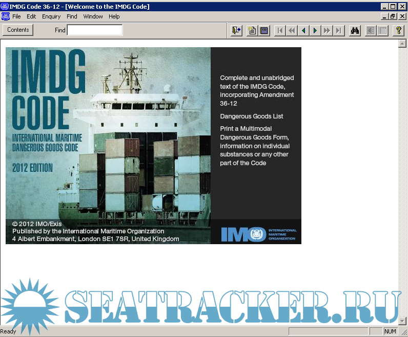 development of the imdg code Positioning of dangerous goods containers on board vessels are categorised by 'stowage categories' to ensure safety many points are considered by imdg code for safe carriage of dangerous goods by sea-going vessels.