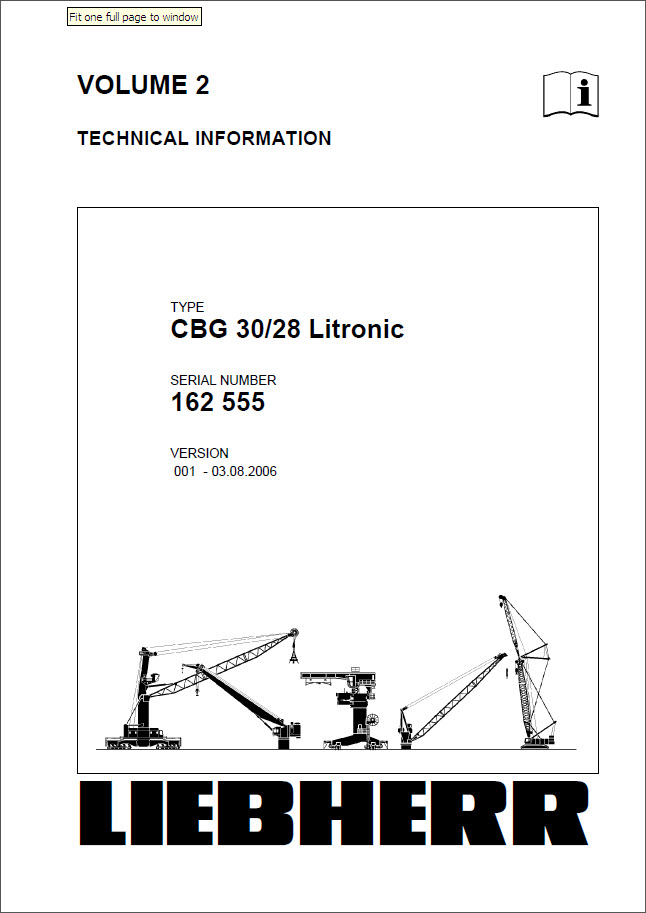 liebherr crane cbg 30 28 litronic technical information operating rh seatracker ru crane operator manual liebherr crane operation manuals tadano gr 600n-2