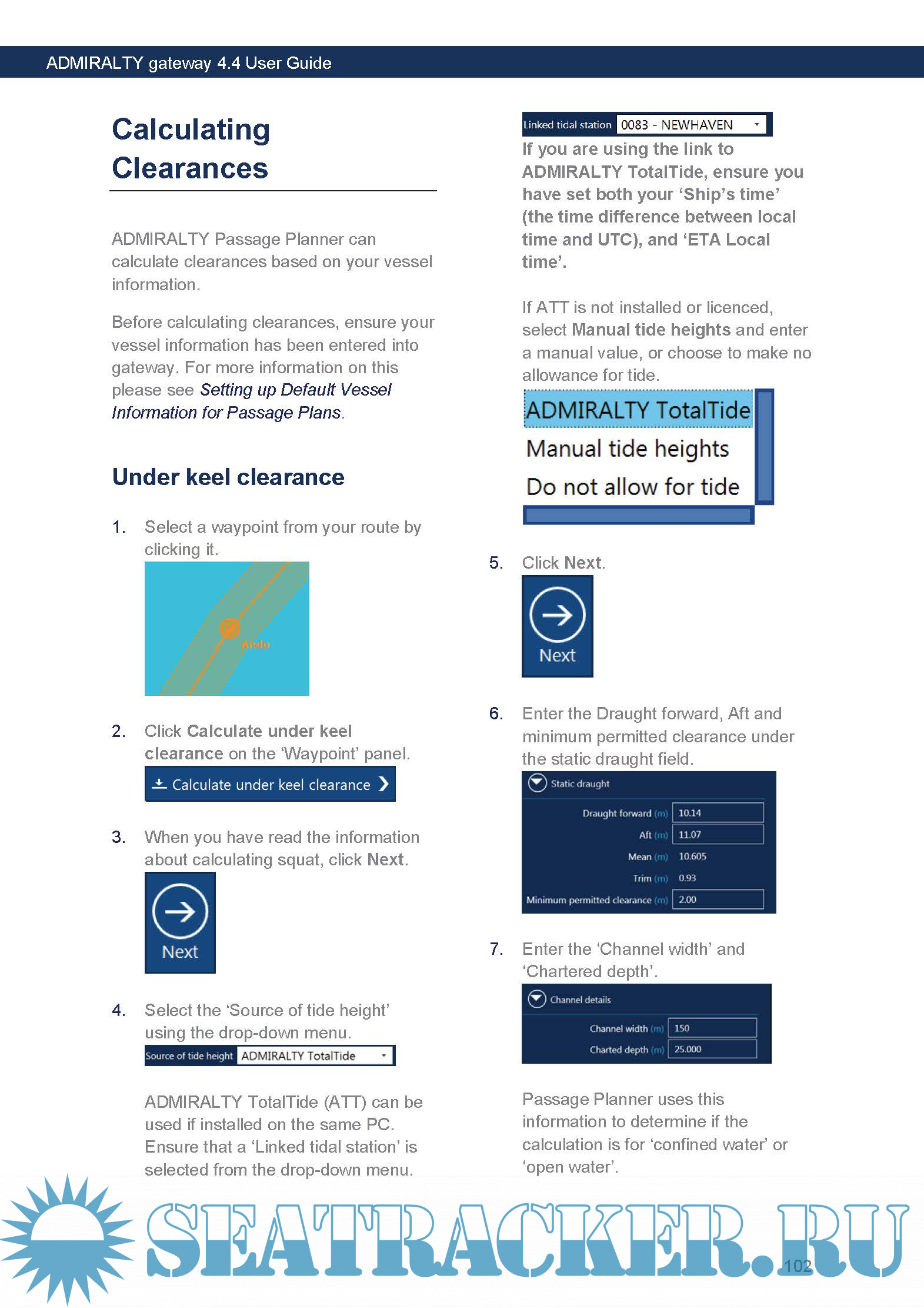ADMIRALTY gateway 4 4 User Guide - UKHO [2017, PDF